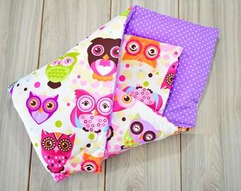 Baby Horn, Sleeping Bag, Swaddle Wrap Blanket, Owls