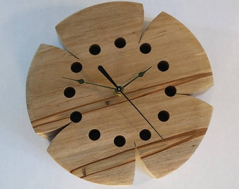 Wall Clock - Spalted Striped Maple - Functional Art