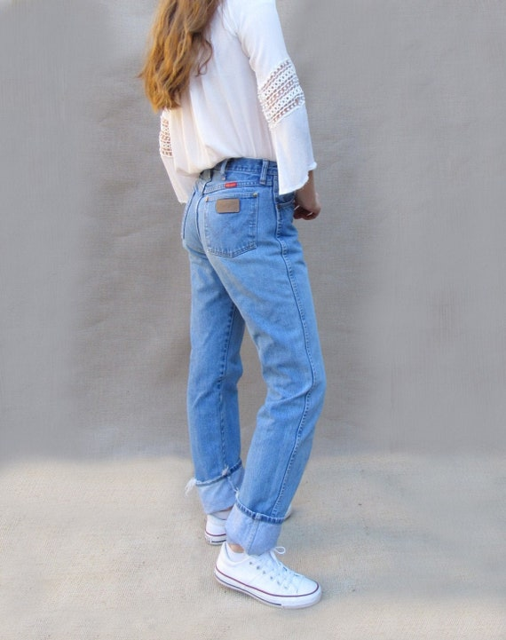 80s 90s Wrangler 28, 29 Classic Fit Western Cowgir
