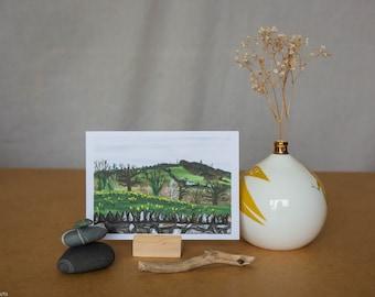 Wicklow Countryside - Postcard