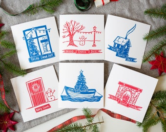 Home - Christmas Card Pack (6 Pack)