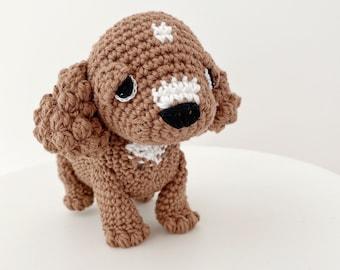 Baby Accessories DIY Domino The Dog Amigurumi Crochet Pattern ... | 270x340