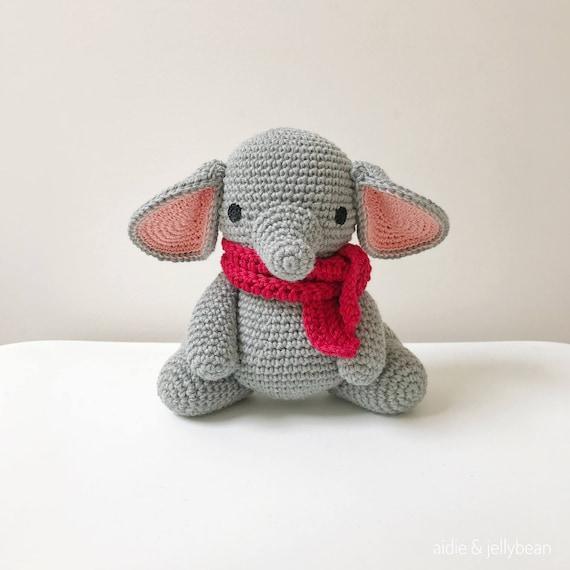 Elefant Häkeln Amigurumi Elefant Elefant Baby Geschenk Etsy
