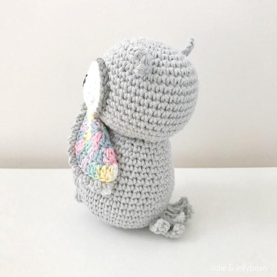 Buho de crochet amigurumi tan del ganchillo juguete regalo | Etsy