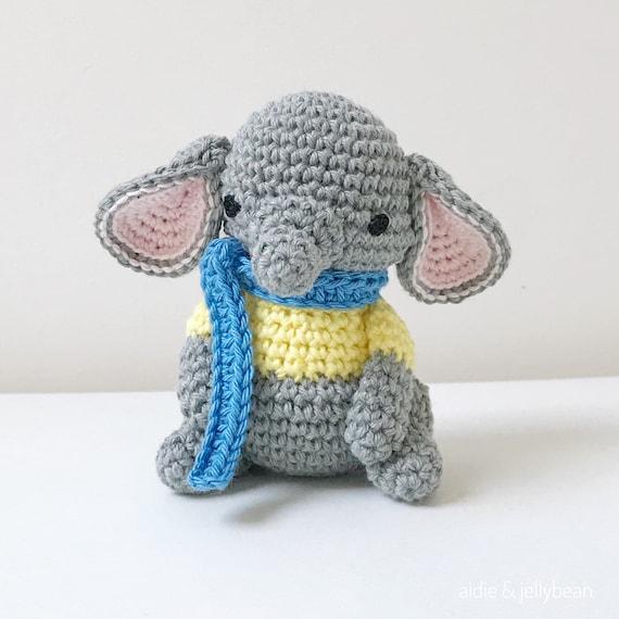 Kleiner Elefant Häkeln Amigurumi Elefant Baby Geschenk Baby Etsy