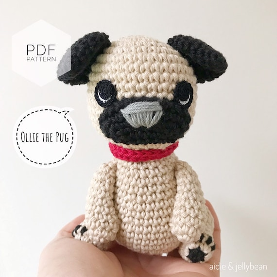 Crochet Pug Amigurumi Project: British Wool | TOFT | 570x570