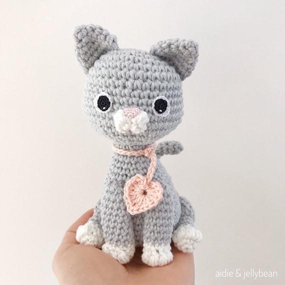 9 Crochet Cat Patterns -Amigurumi Tips - A More Crafty Life   570x570