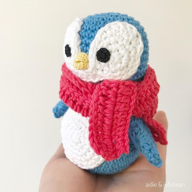 US terminology Felix the Happy Little Penguin pdf Amigurumi Penguin AMIGURUMI PATTERN tutorial English