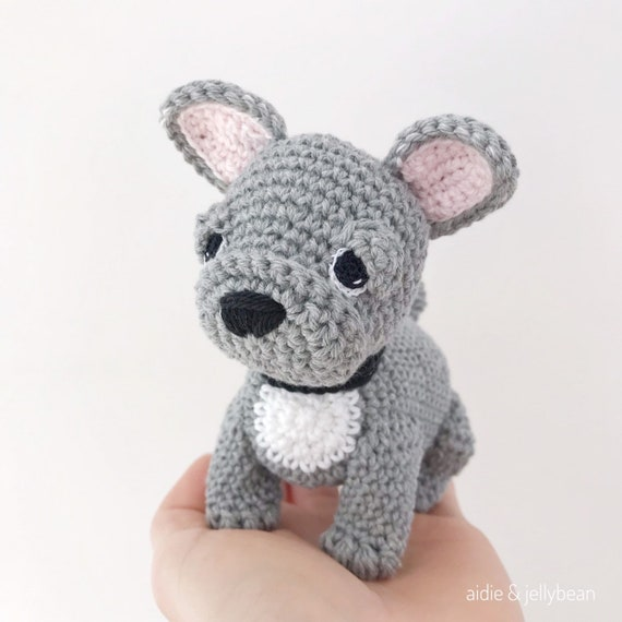 Dorothy, The French Bulldog Puppy - Amigurumi Pattern - Delicious ... | 570x570