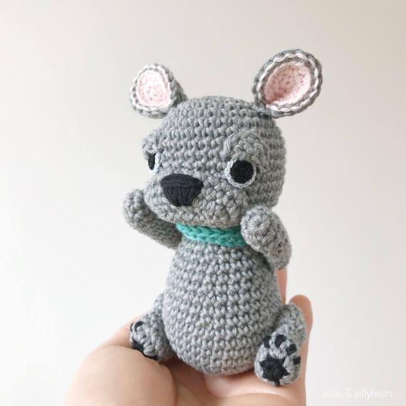 French Bulldog Crochet Amigurumi Crochet Dog Amigurumi Dog French Bulldog Gift Gift For Kids Baby Gift Gift For Her Dog Lover Gift