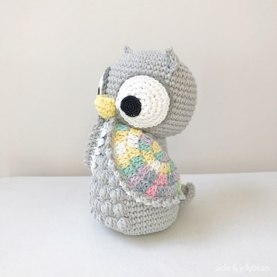 PAREJA de buho amigurumi de ganchillo crochet juguete | Etsy