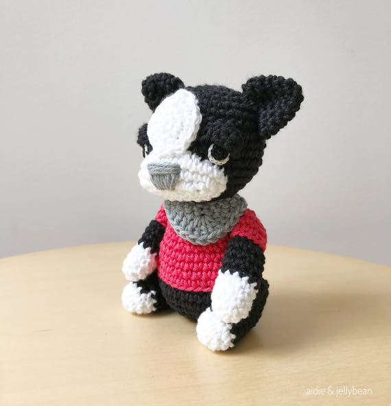 102 Welsh Terrier dog with wire frame - Amigurumi Crochet Pattern ... | 592x570