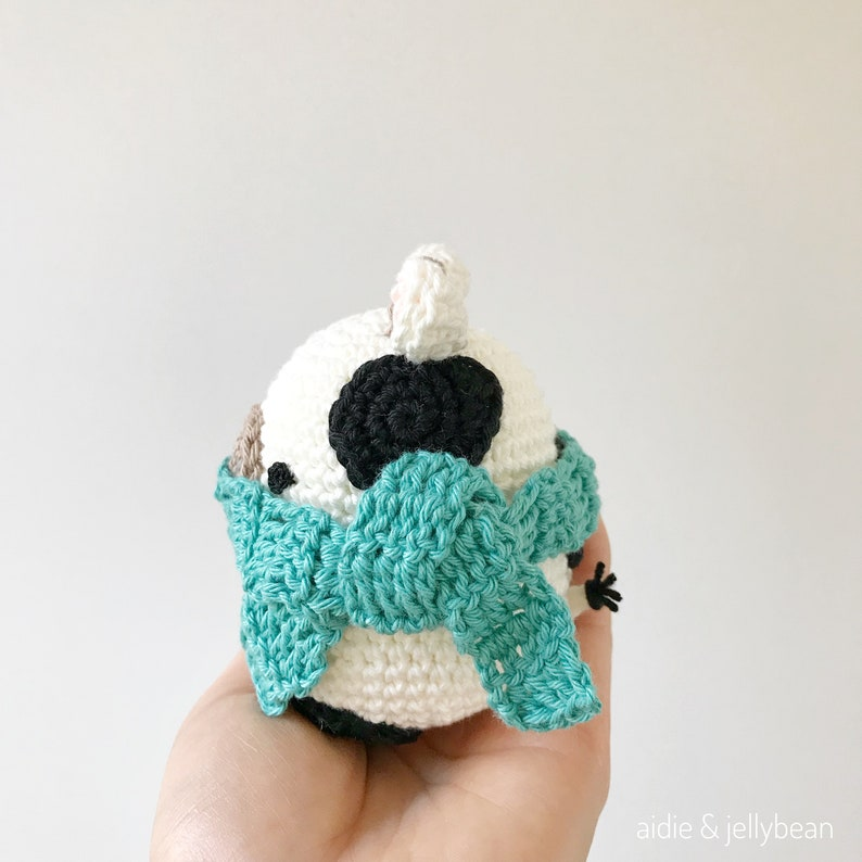 AMIGURUMI PATTERN/ Tutorial English Amigurumi Cow Egg