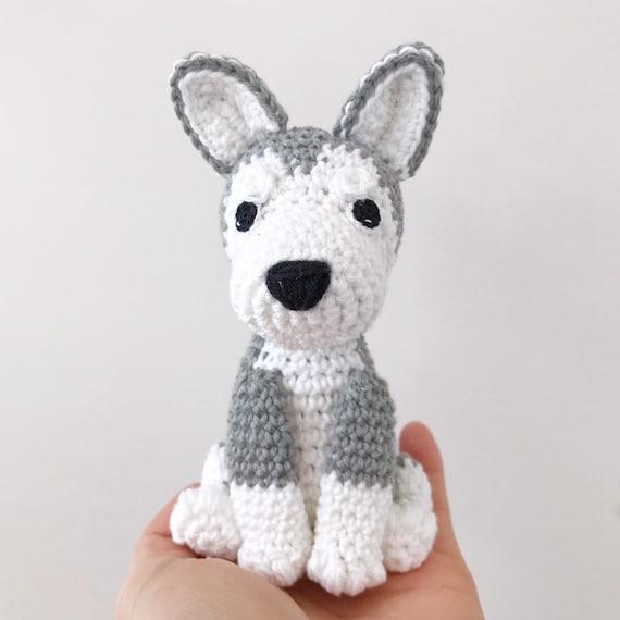 Husky Amigurumi Pattern – SheepShaved | 570x570