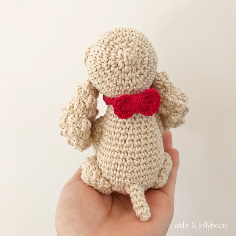 AMIGURUMI PATTERN/ Tutorial English Amigurumi Spaniel Dog