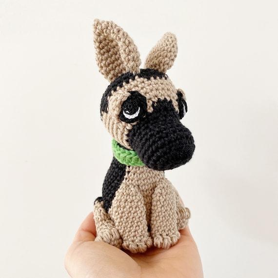 Crochet German Shepherd Dog DIY tutorial Part 1 of 2 - YouTube   570x570