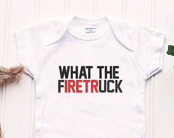 Firefighter Baby Etsy