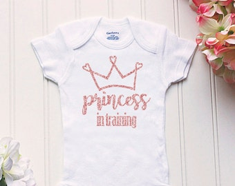 e8b1845539587 Princess in Training Onesie® - baby clothes