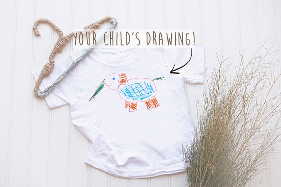 52e9b9708 Design Your Own Shirt wear your imagination kids drawing on
