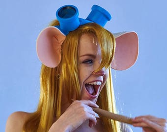 Chip and Dale Rescue Rangers | Gadget Mouse  Ears Goggles | Disney | Temporary with a long production time
