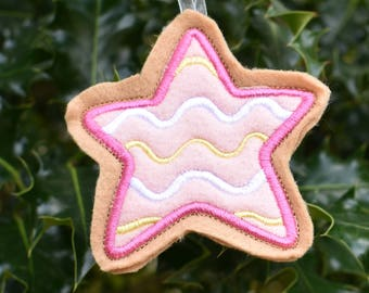 Christmas Star Cookie Ornament