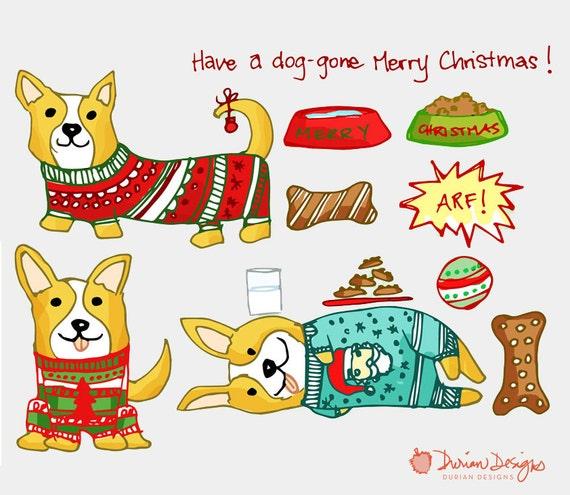 image 0 - Christmas Corgi