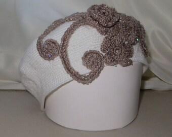 Spring Beret Pattern Cotton Beret Flower Beret Beige Beret Crochet Beret Hat Retro Beret Womens Spring Hat White Beret Pattern Gift For Her