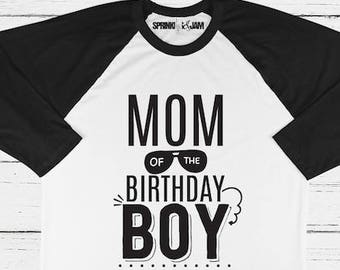 Mom Of The Birthday Boy Matching Shirts Matches I Make One Look Good Kids Tee Parent Shirt