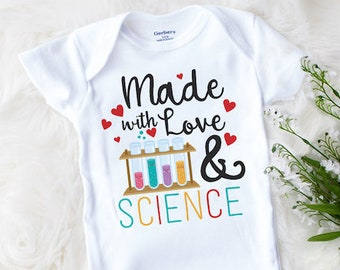 IVF Onesie® Brand, Made With Love and Science, IVF Baby, Miracle Baby, Worth the Wait, Pregnancy Announcement,Gift, Worth Every Penny