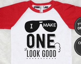 1st Birthday Shirt, 1st Birthday Boy Shirt, First Birthday Outfit, First Birthday Shirt, I Make ONE Look Good