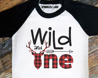 Wild And One Shirt Birthday 1st Boy First Boys Outfit