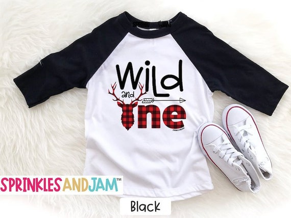 Wild And One Shirt Birthday 1st