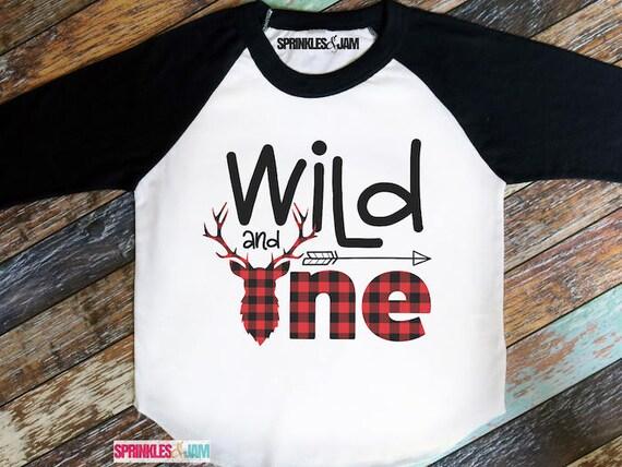 Wild And One Shirt Birthday 1st