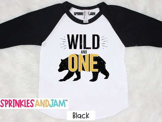 1st Birthday Shirt Boy.Wild One Shirt Wild One Birthday 1st Birthday Shirt Boy Wild And One First Birthday Shirt Boy Boys First Birthday Outfit Bear
