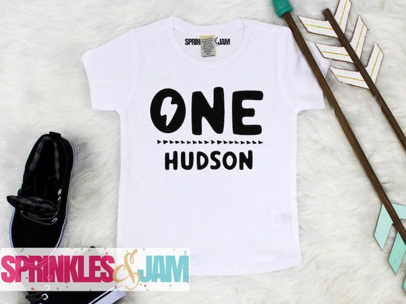 First Birthday Boy Shirt 1st