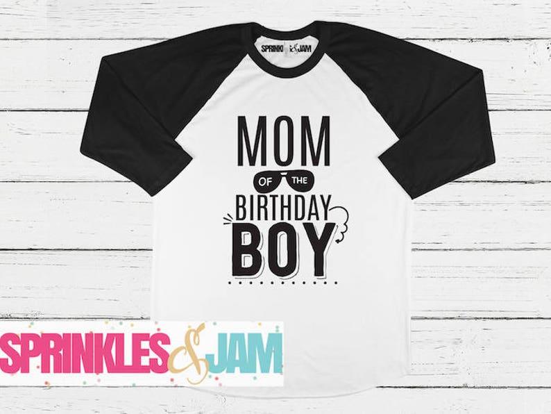 b3c76283 Mom of the Birthday Boy Matching Birthday Shirts Matches I | Etsy
