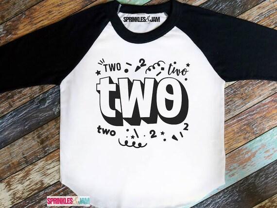 2nd Birthday Shirt Boy Second Girl