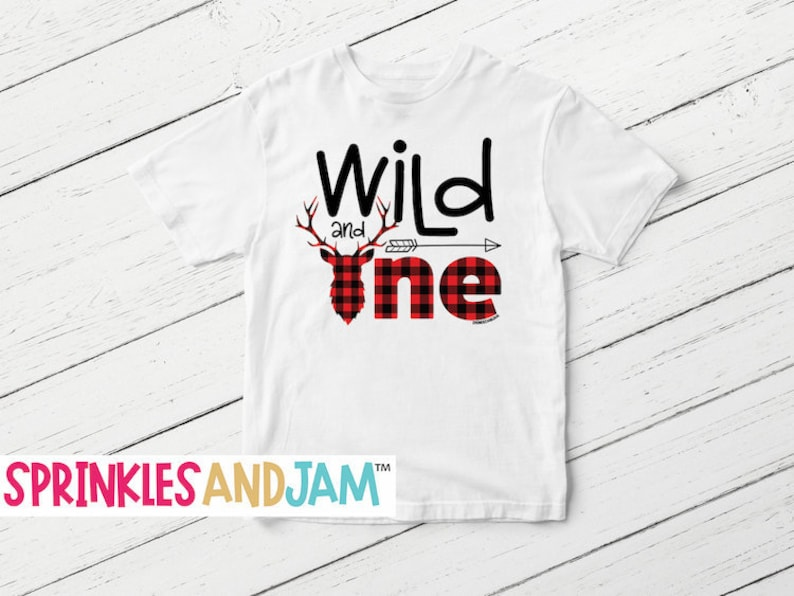 Wild One Birthday Shirt 1st