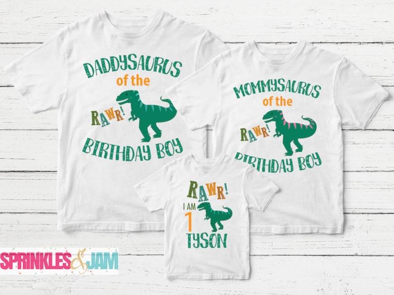 3060a3a98 Matching Family Birthday Shirts Dinosaur Birthday Shirts Mom | Etsy
