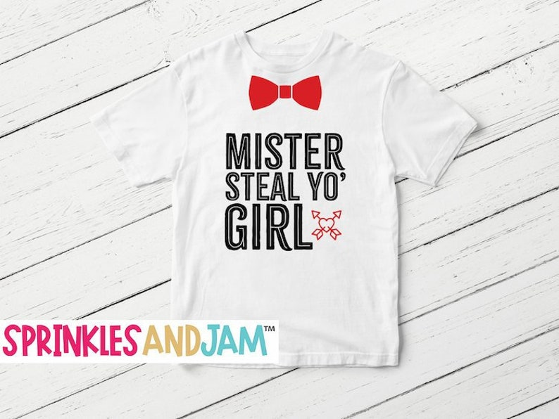 3fd6793d8 Funny Valentines Baby Onesie® Mr Steal Your Girl Mr Steal Yo   Etsy