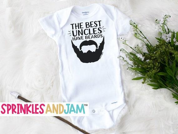 unisex baby onesie Uncle baby onesie