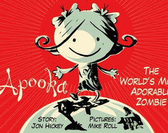 Apooka the World's Most Adorable Zombie