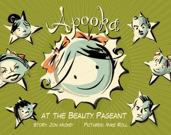 Apooka at the Beauty Pageant