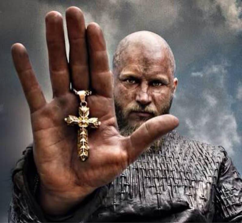 Viking Ragnar lothbrok cross