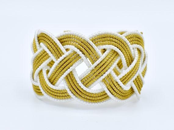 Golden Grass Bracelet//Capim Dourado Bracelet//Pulseira Capim Dourado//Gold Woven Bracelet