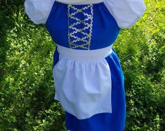 belle dressbelle blue dressbelle provincial dressbelle costumeprincess dressprincess costumehalloween costumegirls costumeprincess