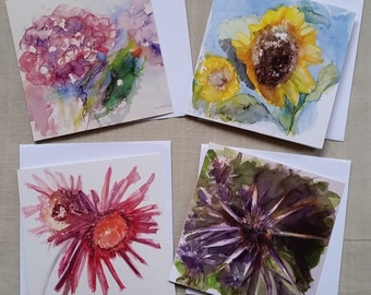 Art Cards Flower Set 2