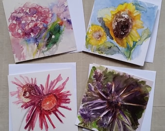 Art Cards Flower Set 2