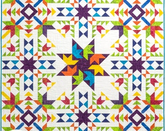 Barn Quilt BOM PAPER Pattern (PBQ #116)