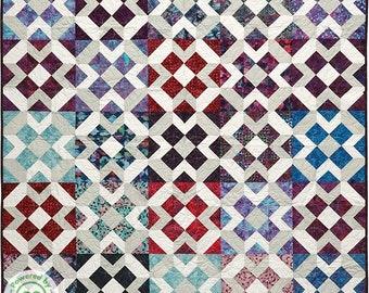 Square Trickster PAPER Pattern (PBQ #119)